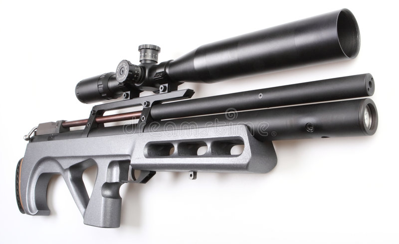 Download Modern Air Gun With Sight Stock Images - Image: 3963914