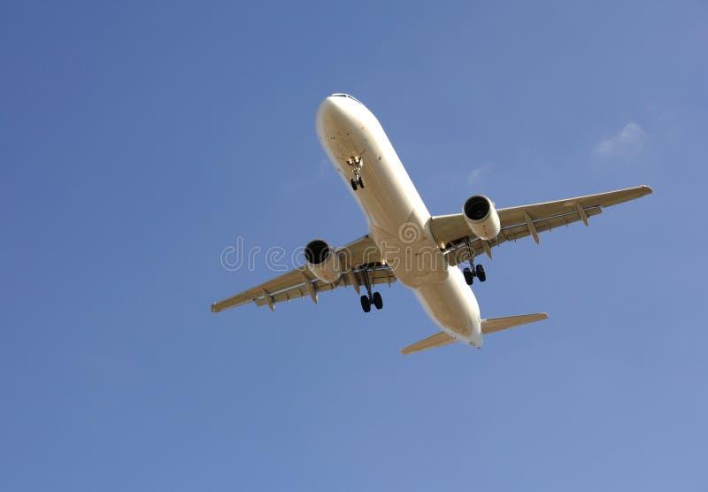 Modern airliner taking off