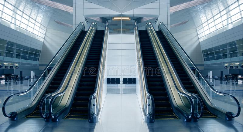Modern Airport Architecture royalty free stock images