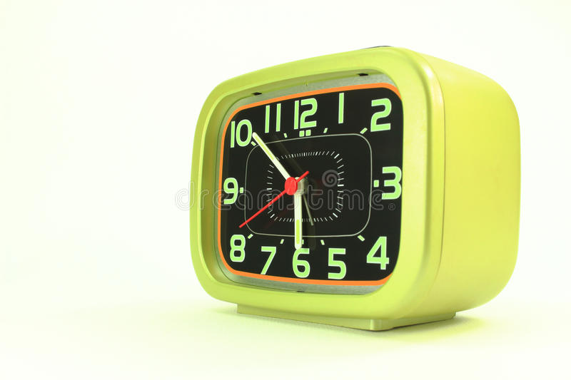 Modern alarm clock royalty free stock photo