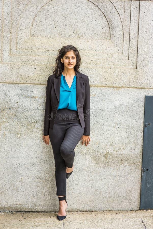 Modern amerikanstudent för östlig indier arkivbilder