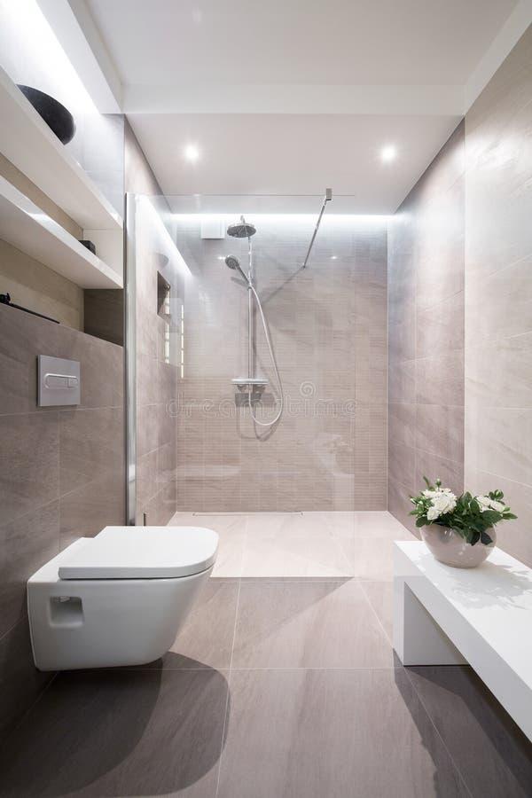 Free Modern And Tasteful Bathroom Royalty Free Stock Photo - 61938675