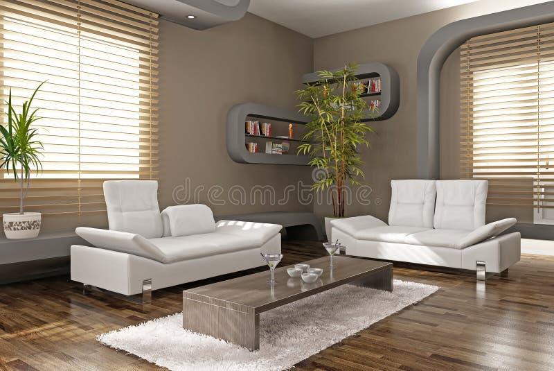 Modern apartment vector illustration