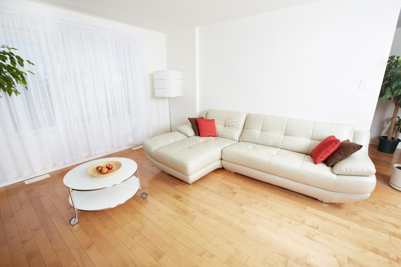Modern apartment. Beautiful cozy modern apartment. Real estate concept royalty free stock image