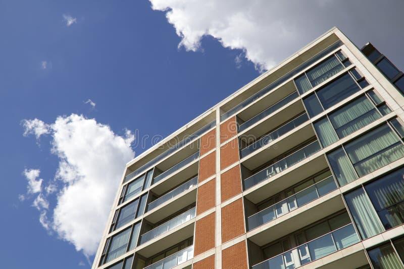 Modern Apartment Block stock images