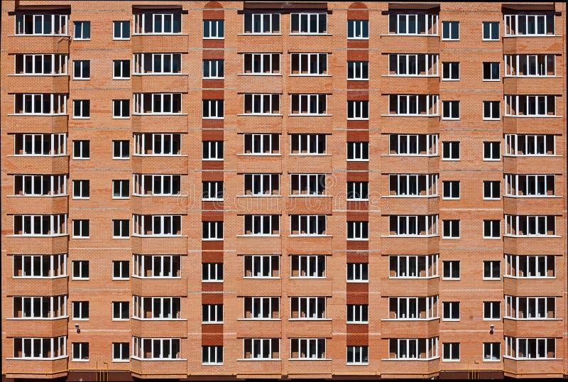 Modern apartment block. New apartment block, modern building royalty free stock photo
