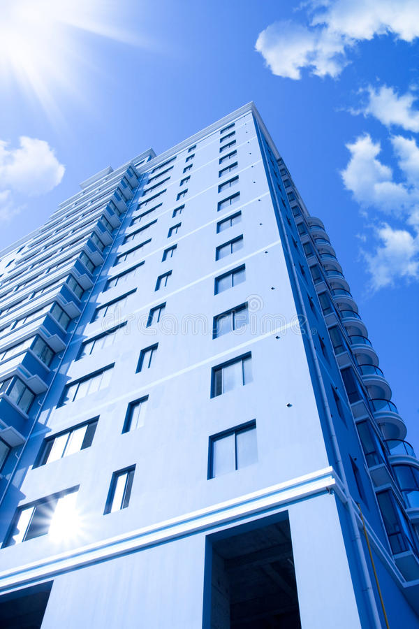 Download Modern Apartment Buildings stock photo. Image of exterior - 15173748