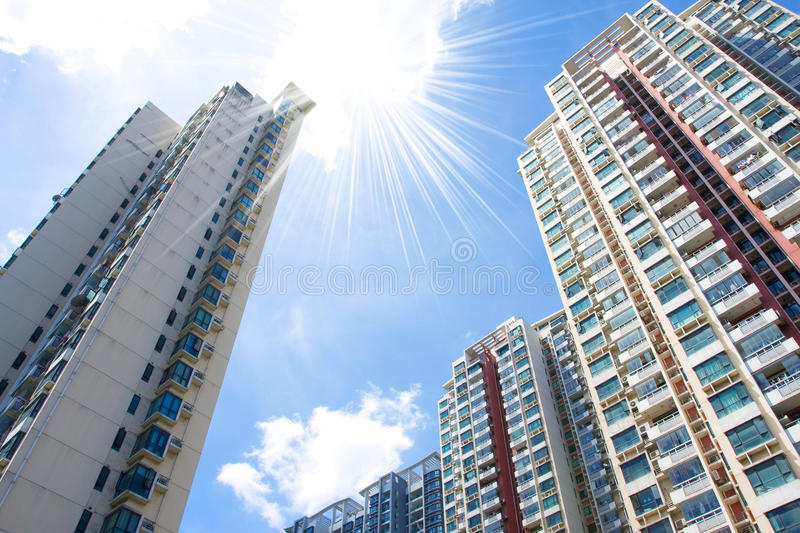 Download Modern Apartment Buildings stock photo. Image of floor - 15534636