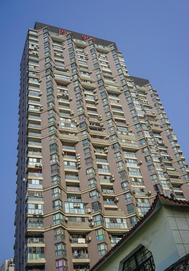 Modern apartment in Chengdu, China royalty free stock images