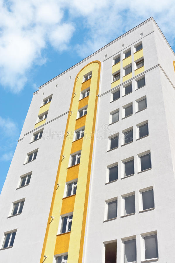 Download Modern apartment house stock image. Image of complex - 34300837