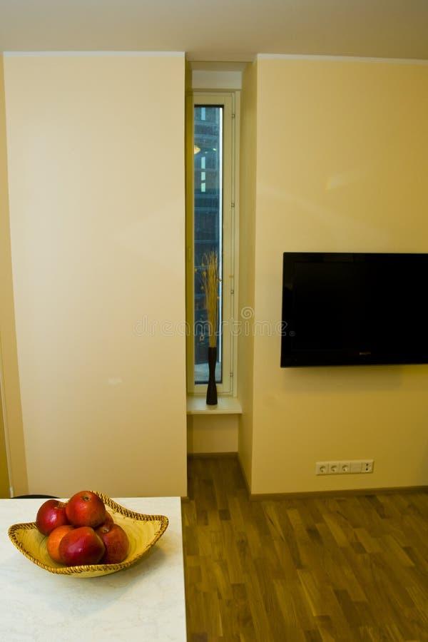 Modern Apartment Interior stock photos