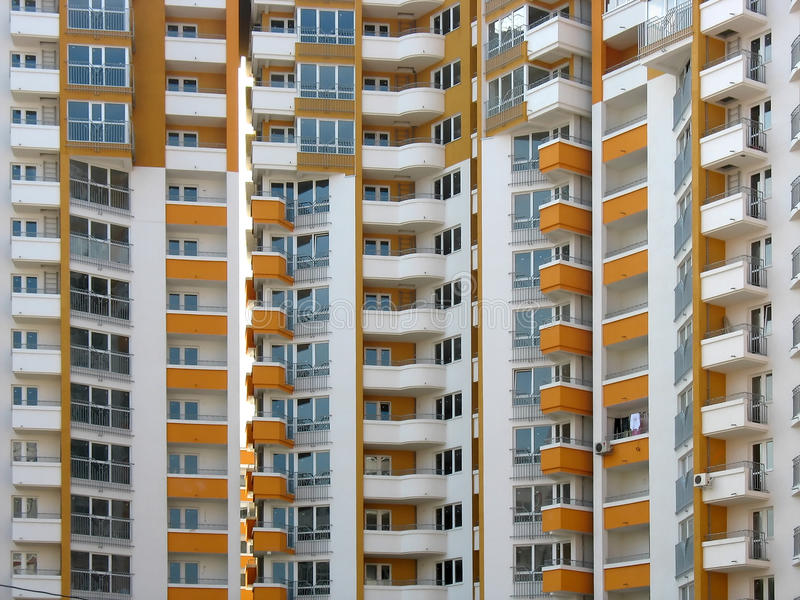 Download Modern Apartment Skyscraper House Stock Photo - Image of high, flat: 14176942