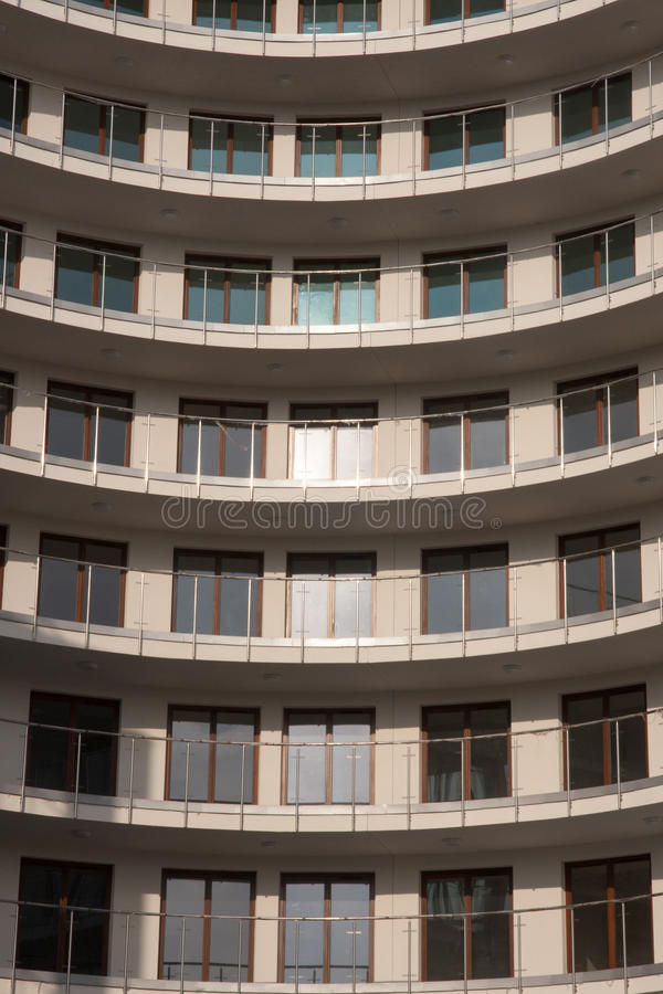 Modern Apartments In Warsaw Stock Photo - Image of house ...