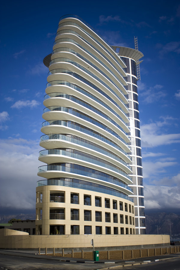 Modern Appartment Building royalty free stock photo