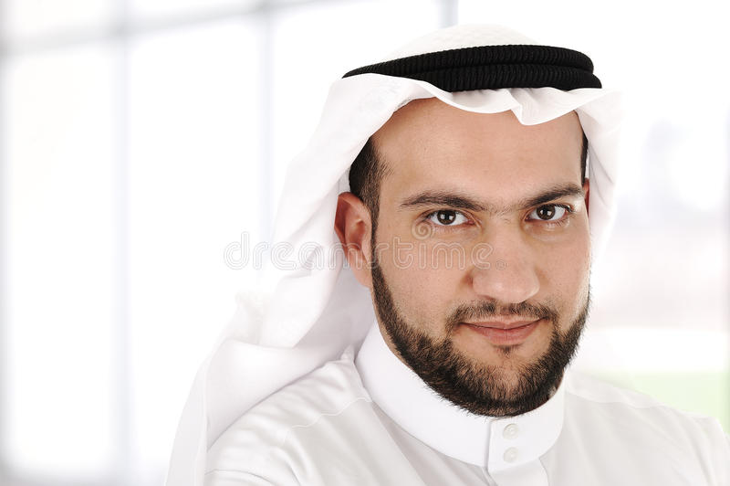 Modern arabisk affärsman arkivfoton