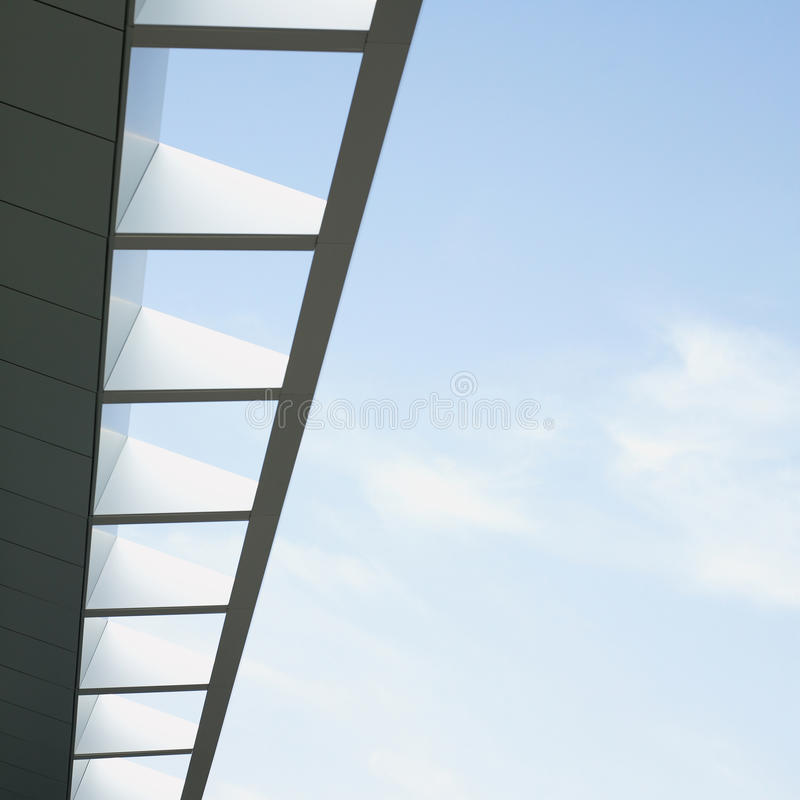 Download Modern Architectural Awning Stock Image