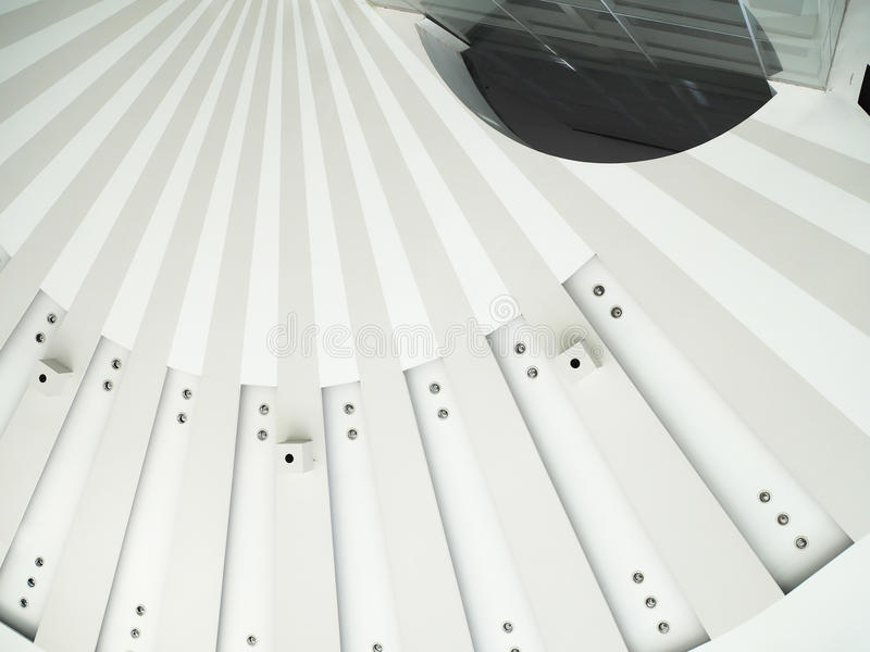 Modern Architectural Skylight Structure stock image