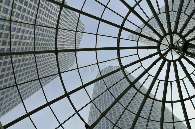 Download Modern architecture stock photo. Image of glass, shape - 14858396
