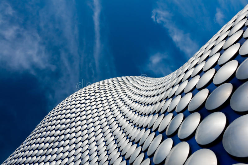 Modern architecture stock image