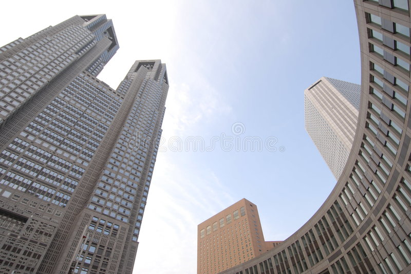Download Modern architecture stock image. Image of skyscraper, commerce - 1724223