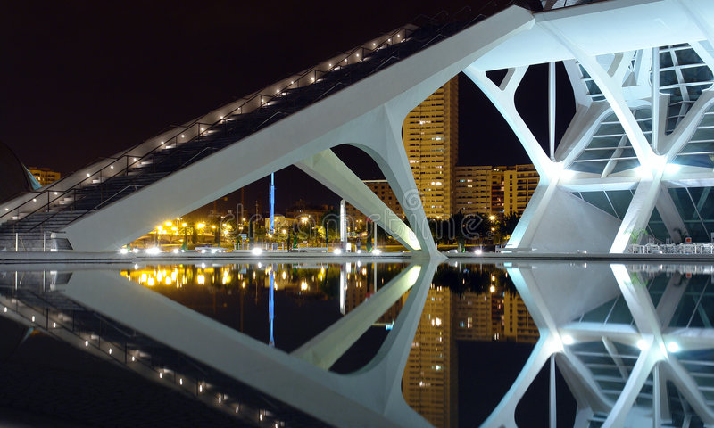 Download Modern architecture editorial stock image. Image of valencia - 2543604