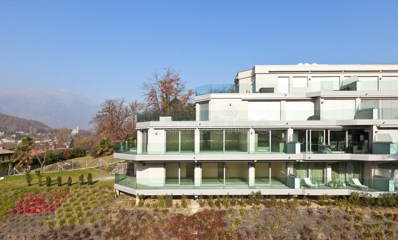 Download Modern architecture stock image. Image of modern, outside - 28544473