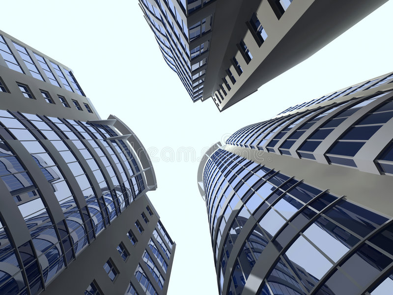 Modern architecture royalty free stock image