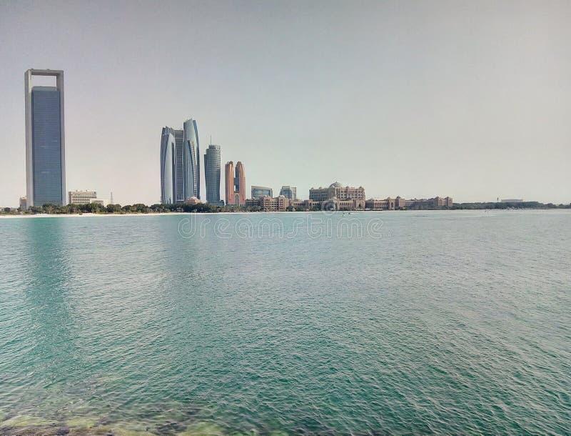 Jumeirah towers royalty free stock photo