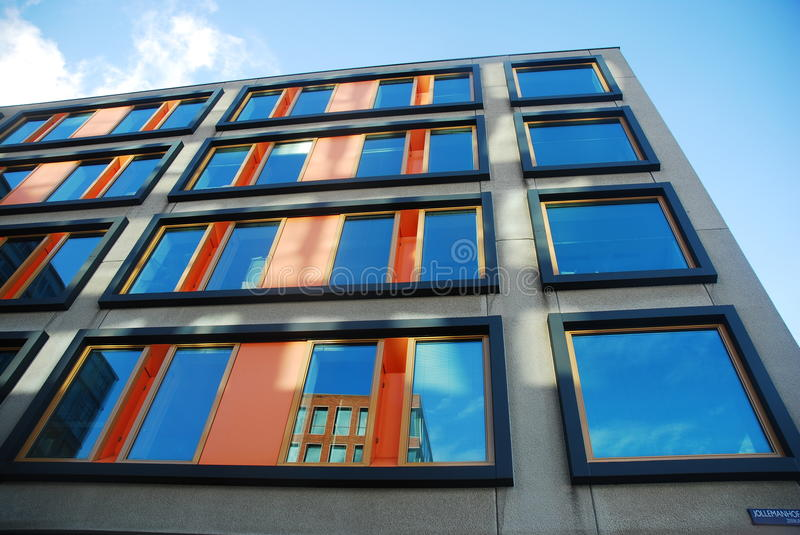 Modern architecture, Amsterdam royalty free stock photo