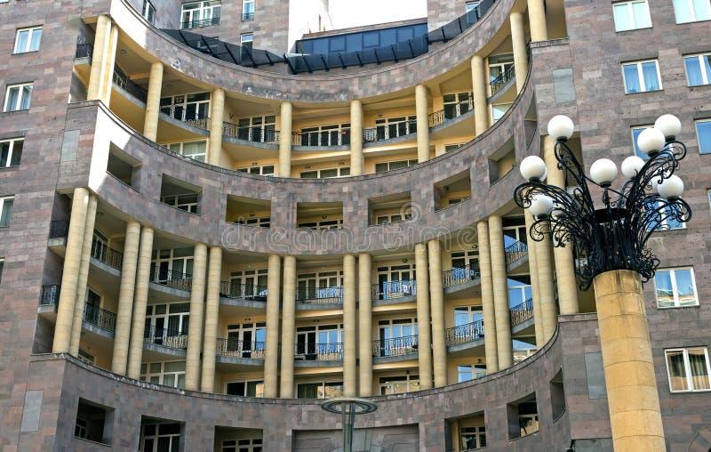 Modern Architecture Of Yerevan, Armenia Stock Image ...