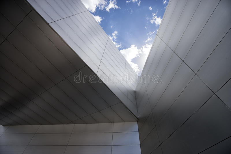 Modern architecture detail royalty free stock photos