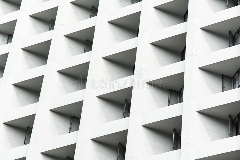 Modern Architecture Detail - Hong Kong, China stock images