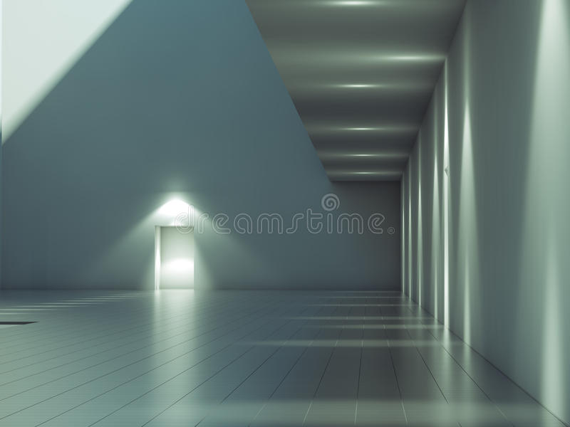 Download Modern Architecture Exterior Stock Illustration - Image: 13180285