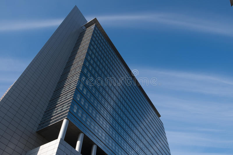 Modern Architecture in Frankfurt Germany stock photography