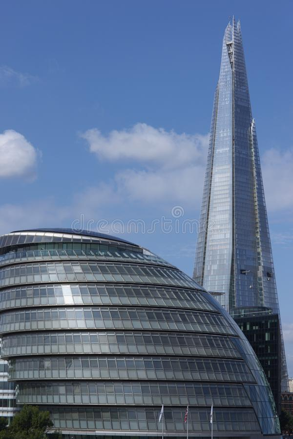 Modern Architecture In London modern architecture of london stock photo - image: 40115026