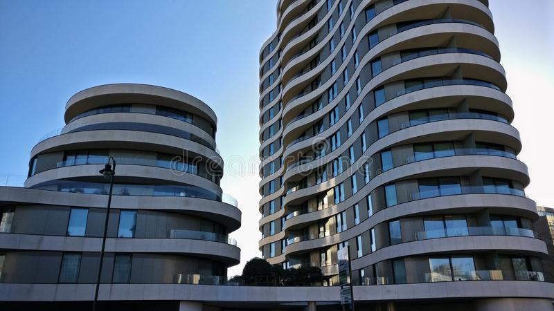 Modern Architecture in London royalty free stock photo