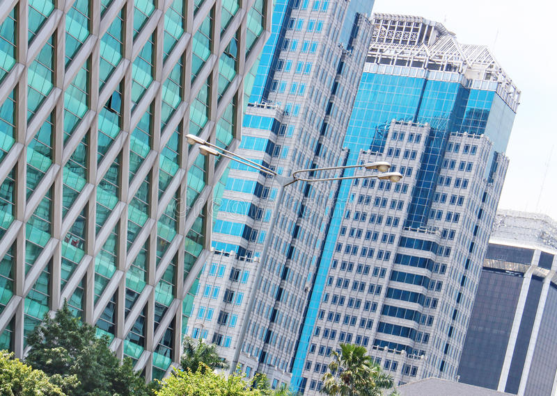 Modern architecture modern buildings. Buildings royalty free stock photos