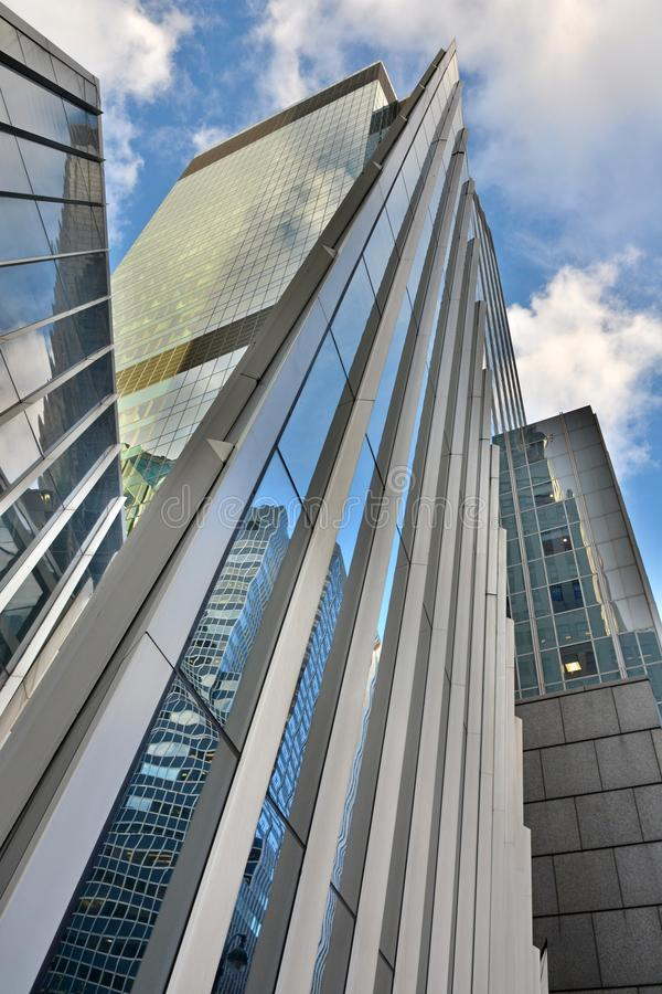 Modern architecture in New York City. royalty free stock images