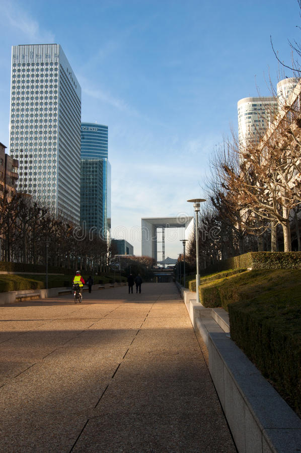 Download Modern Architecture In Paris, France Editorial Photography - Image  of district, skyscrapers: