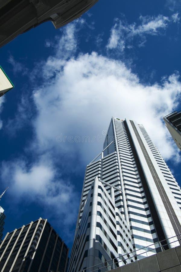Modern architecture in Perth, Australia stock image