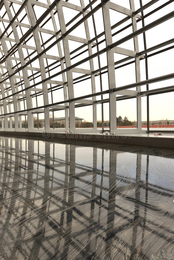 Modern Architecture Skylight Framework Stock Photography