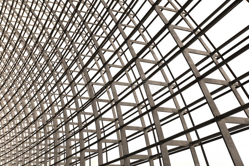 Download Skylight grid architecture stock photo. Image of steel - 30219182