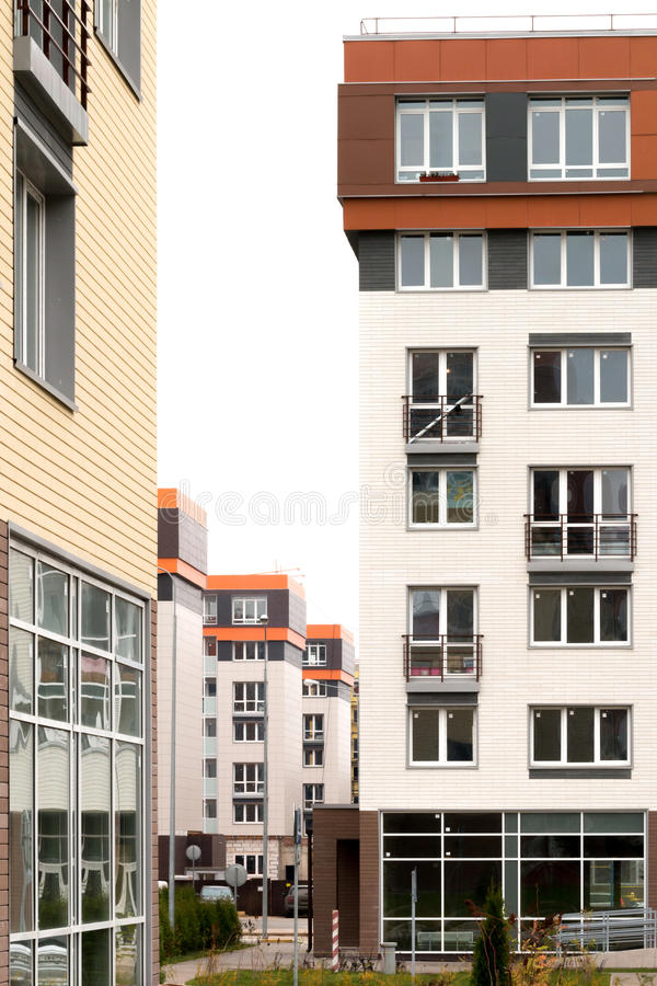 modern architecture social housing stock image image of