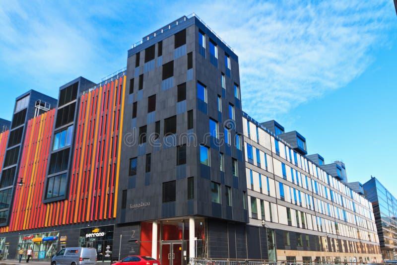 Modern architecture Stockholm stock photo