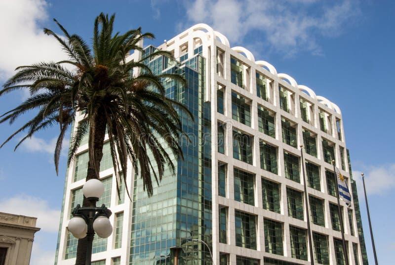 Modern arkitektur i Montevideo - Uruguay fotografering för bildbyråer