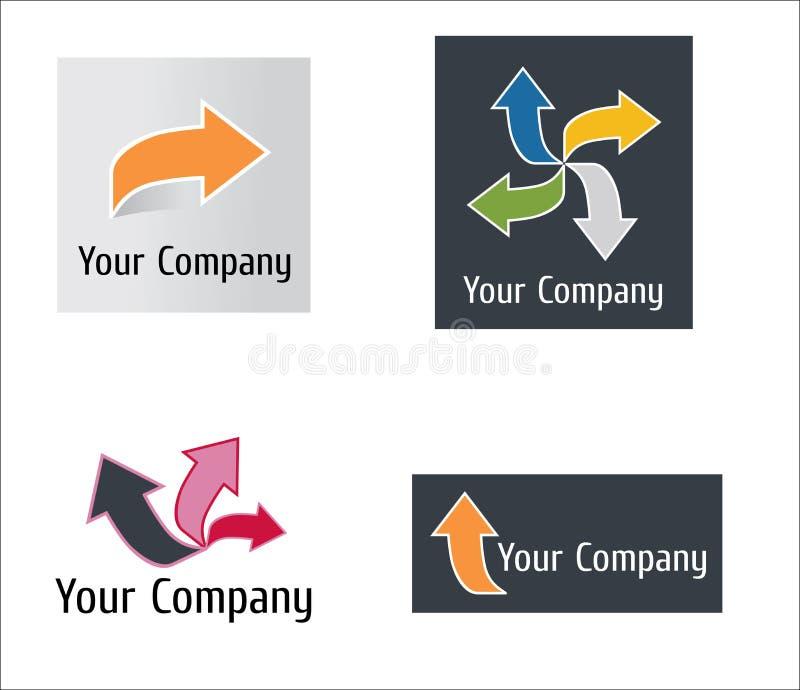 Download Modern arrow logo stock vector. Image of corporate, identity - 11094514
