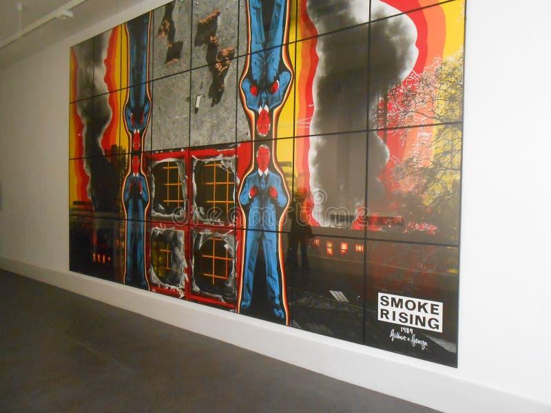 Modern Art Dublin Museum royalty-vrije stock afbeelding
