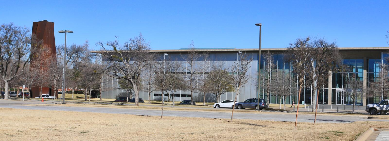 Modern Art Museum Fort Worth, Texas. royalty free stock photos