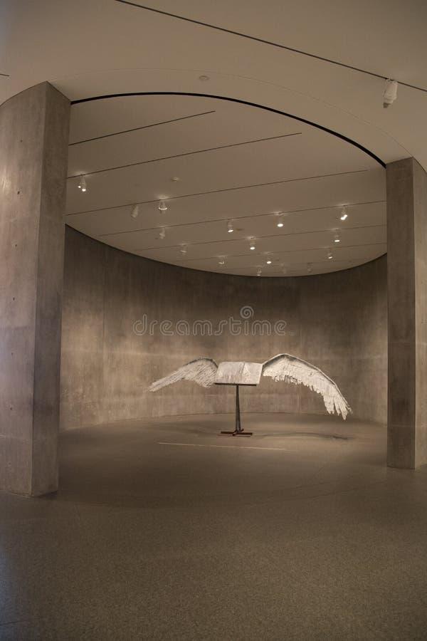 Modern Art Museum van het binnenland van Fort Worth royalty-vrije stock foto's