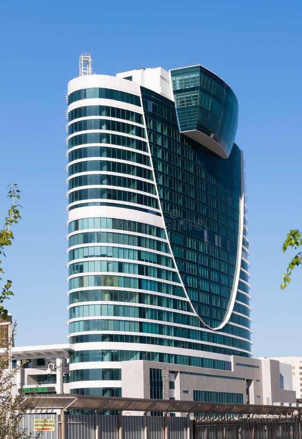 modern astana byggnad Kazakhsatan royaltyfria bilder